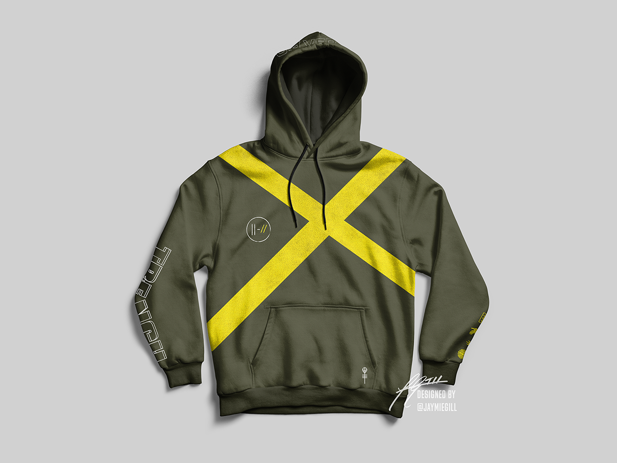 f0c34f6b42b Twenty One Pilots - TRENCH  Josh s Hoodie  Merchandise on Behance