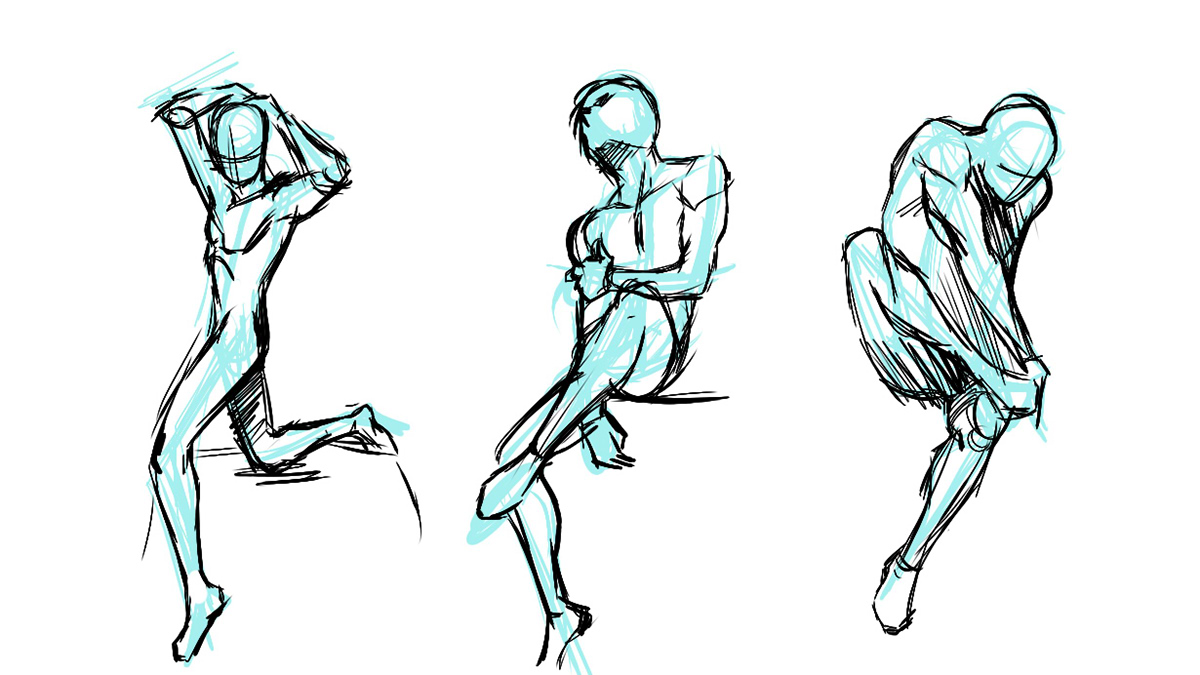 Below are just some of the studies i made in drawing the human figure this is just the beginning there are still a lot more to learn about drawing the