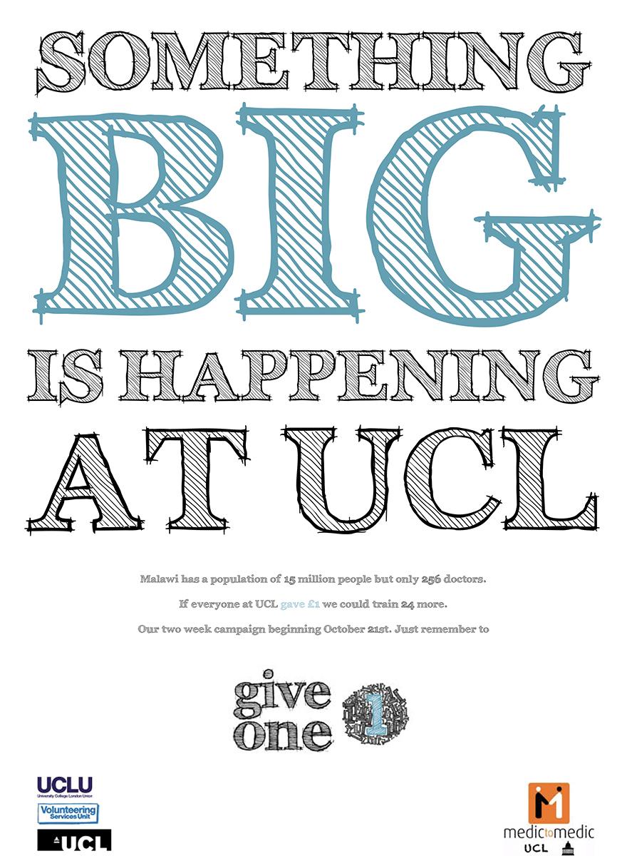 charity malawi medic to medic UCL University College London pro bono University Students student campaign Guerilla