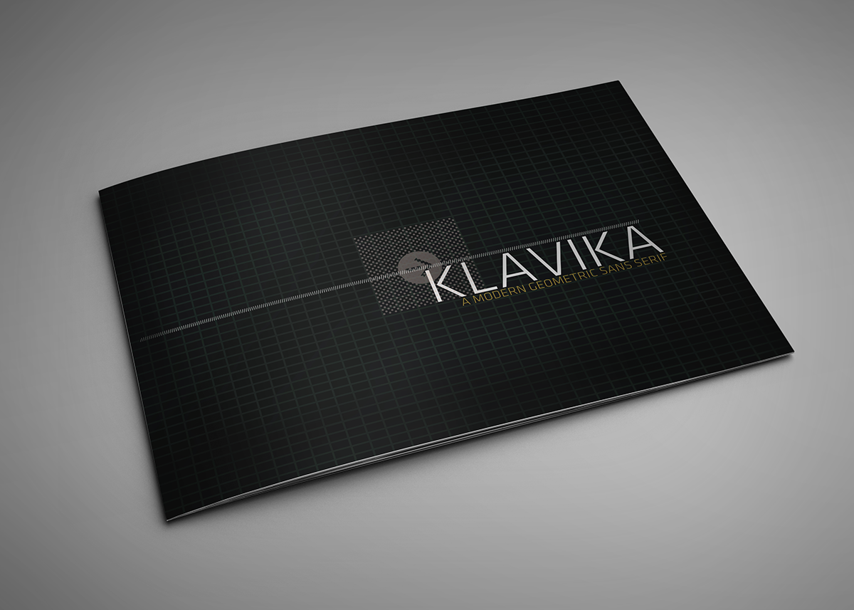 Klavika Book on Behance