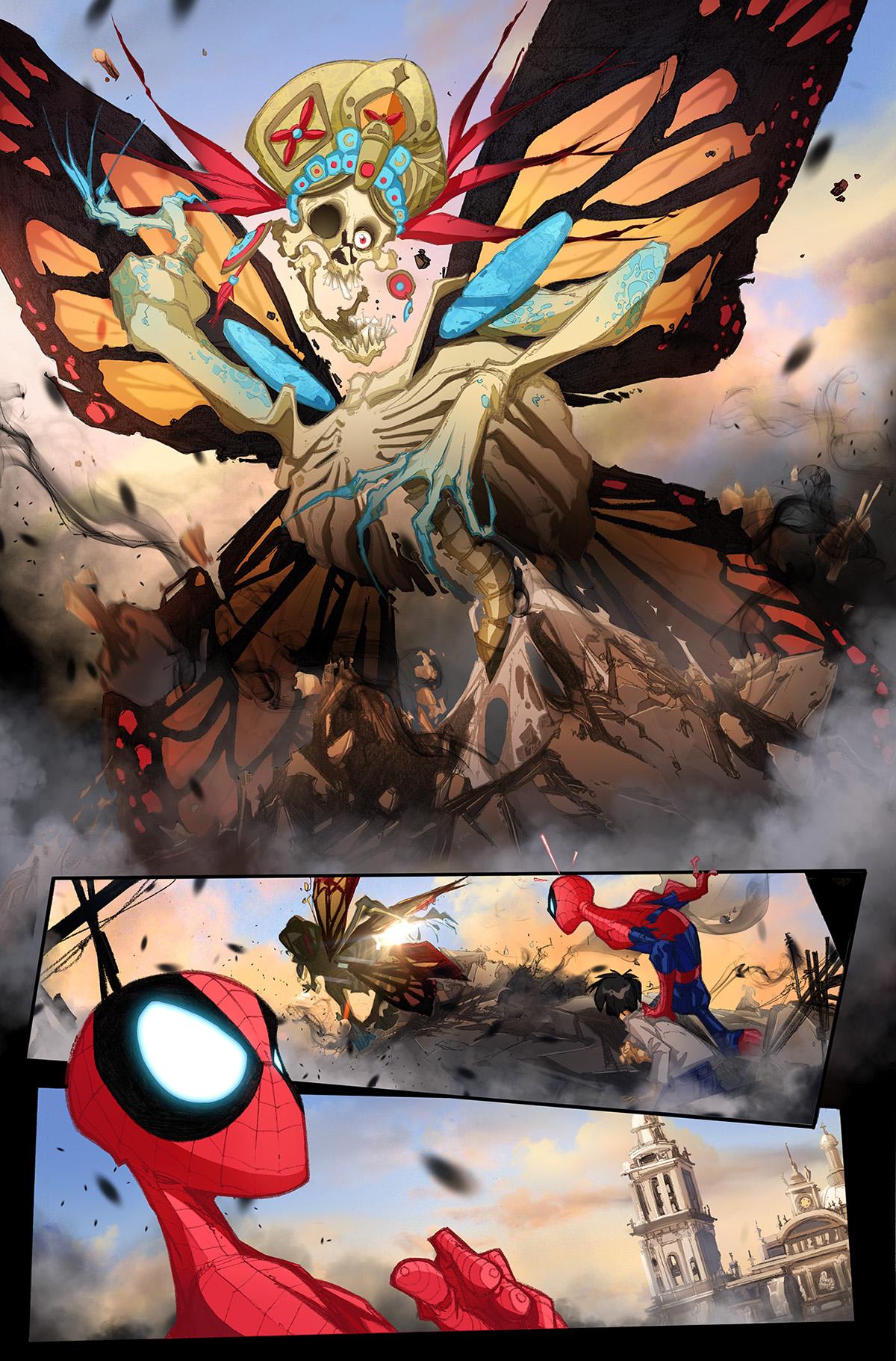 spiderman,comic,marvel,whitefer