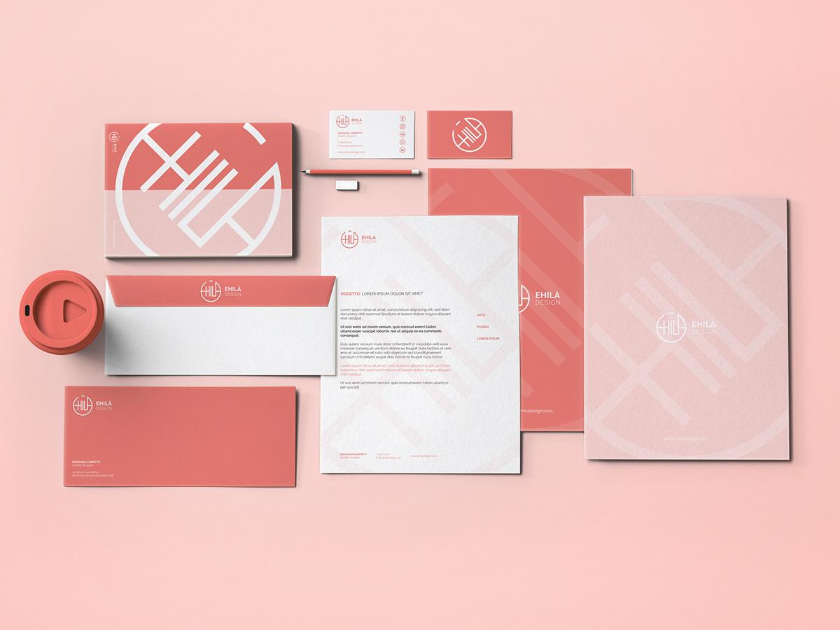 brand identity design logo Stationery Adobe Portfolio business card corporate image studio