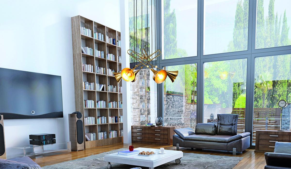 lighting Iluminación product design  diseño industrial trompeta musica design industrial design  Lamp lampara