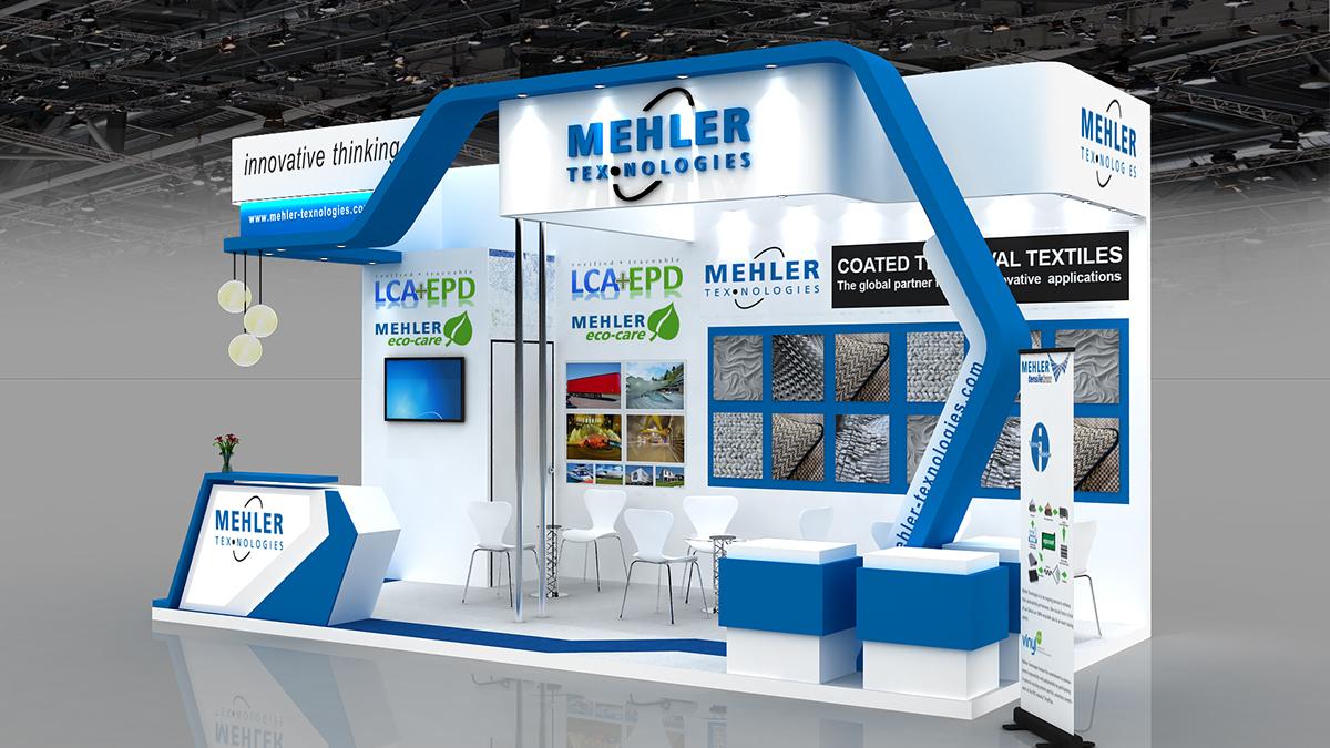 D Exhibition Designer Job In : Mehler texnologies on behance