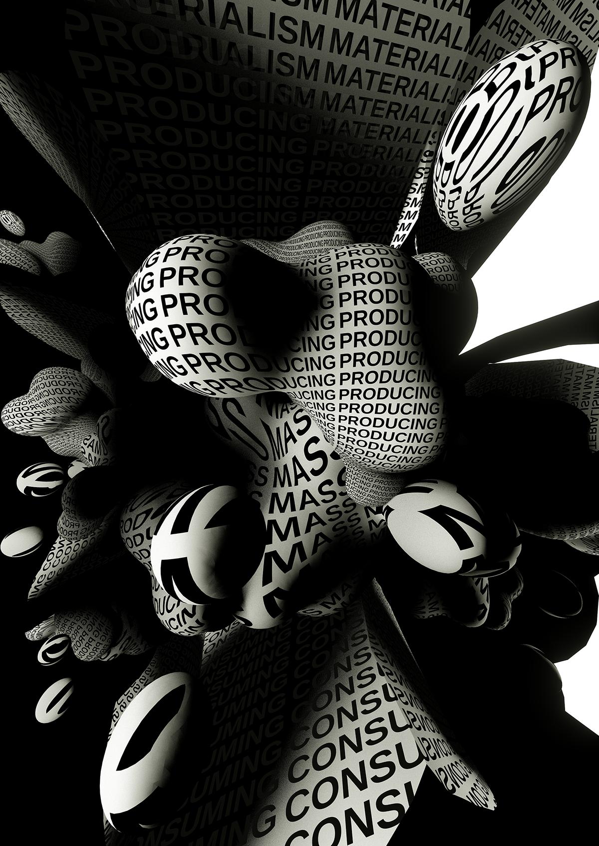 thankful madeineger mediadesigneger Typozone museumic copypaste poster print animation  typography