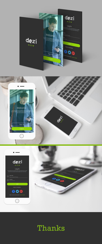 Dz App Design On Behance