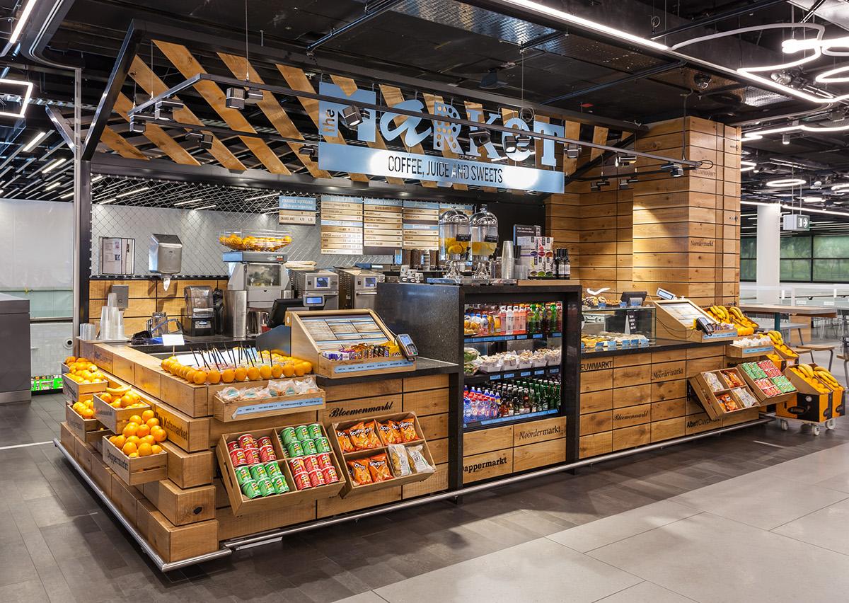 Schiphol Street Food Market Hmshost On Behance