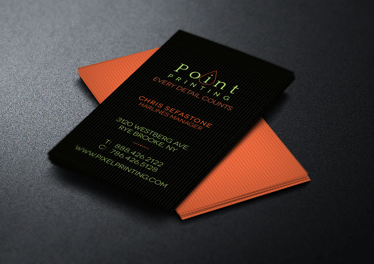 free digital printer business card template on behance - Free Digital Business Card