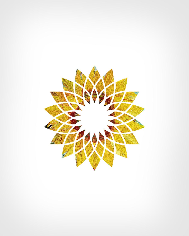 popart juxtaposition starbucks apple van gogh logo