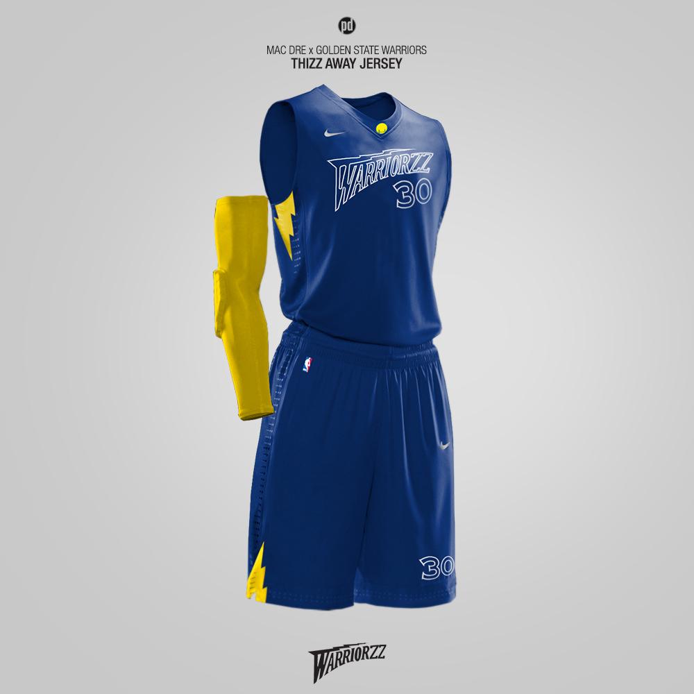 ff42a0ca Nike x Hip-Hop Artists - Rebrand for 15 NBA Teams on Behance