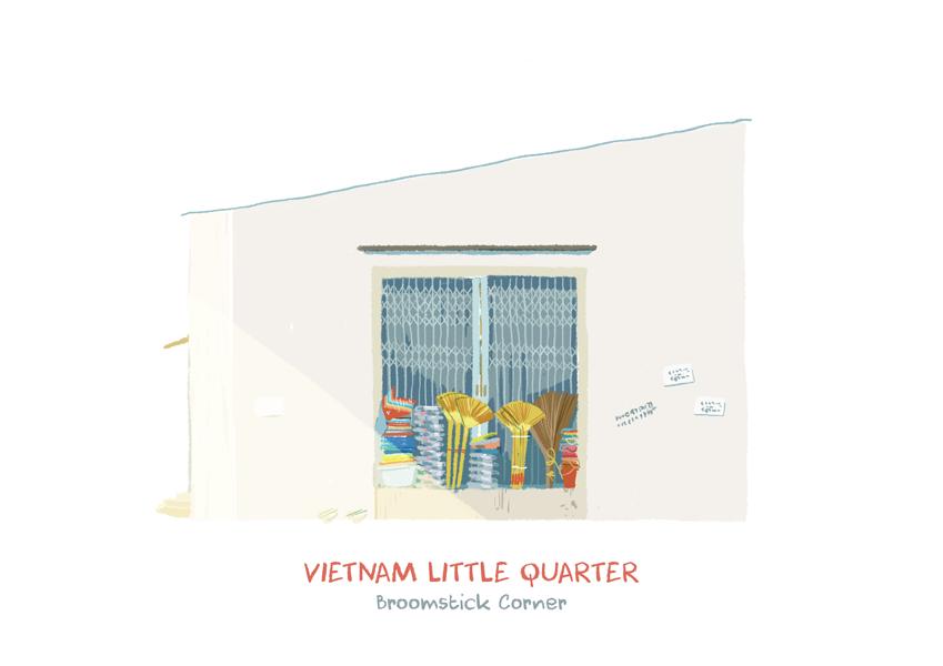 Vietnam Little Quarter on Behance