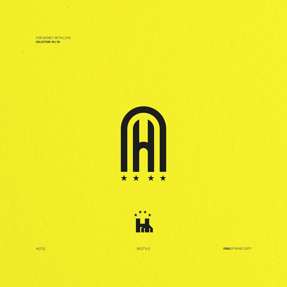 logofolio brand Collection design graphic design  logo monogram branding  Rebrand pubblicita