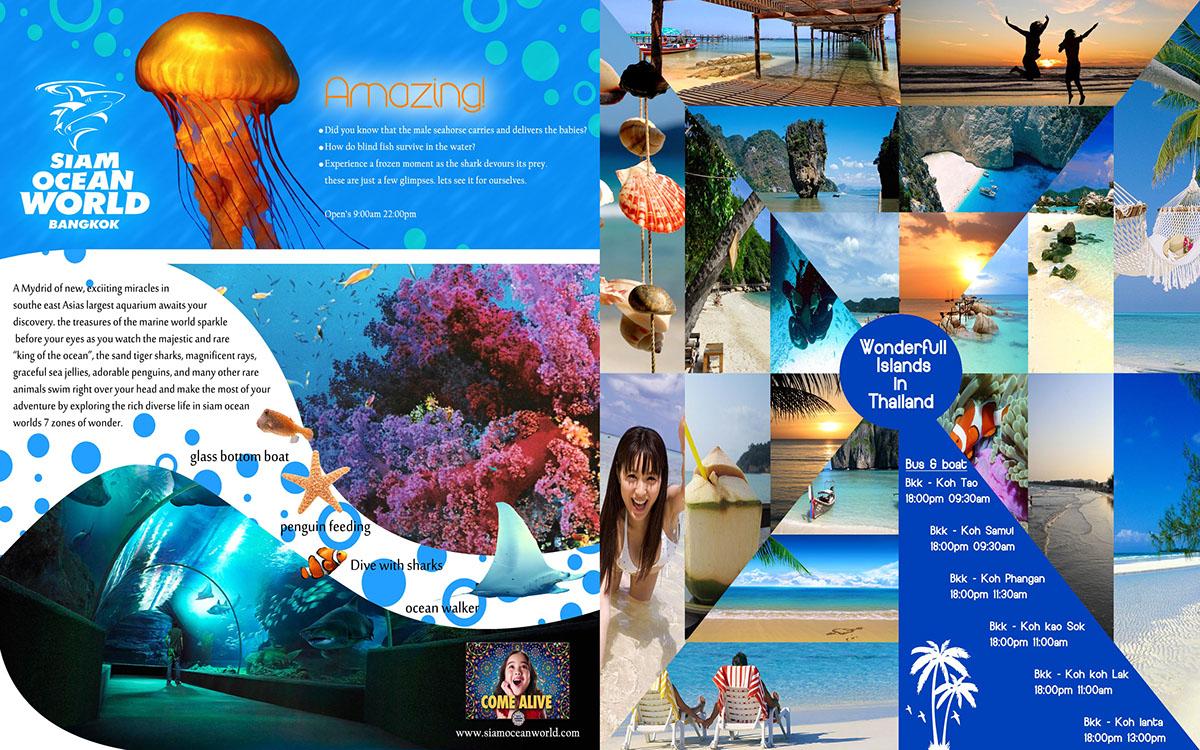 Thailand Travel Brochure on Behance – Travel Brochure