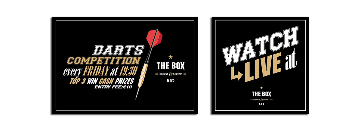 corporate image sport bar lounge logo