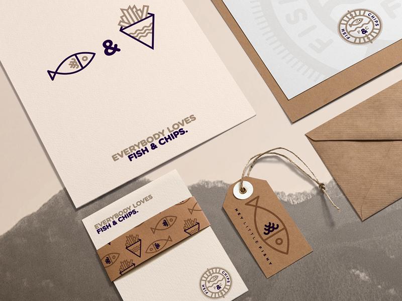 type clean stroke texture Illustrator identity Food