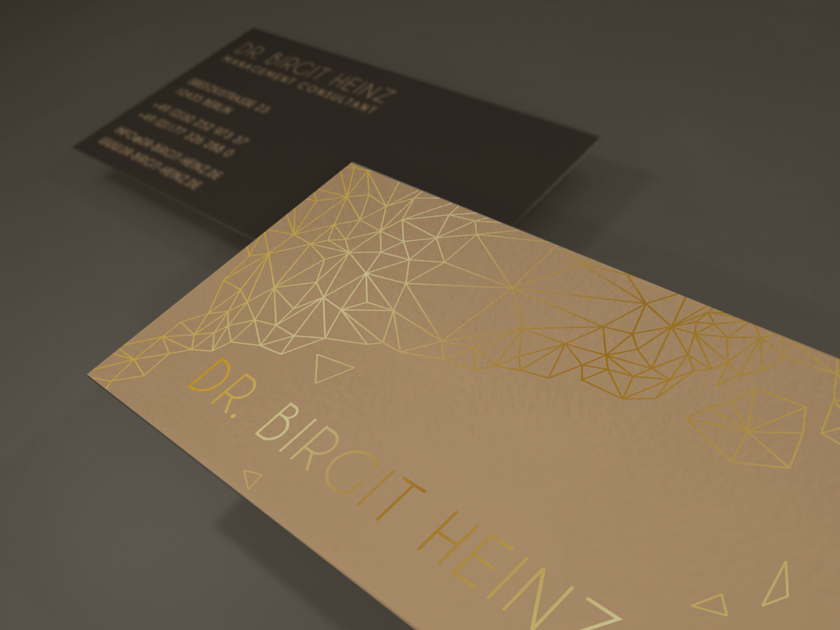 Business Card Design for Management Consultant on Behance