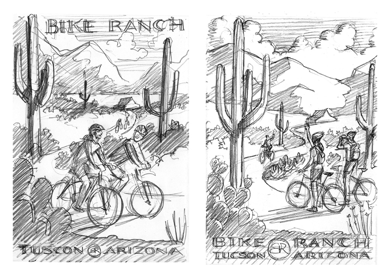 More cycling poster concepts
