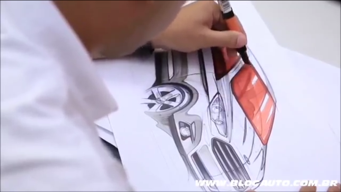 cardesign Ford sketch ka