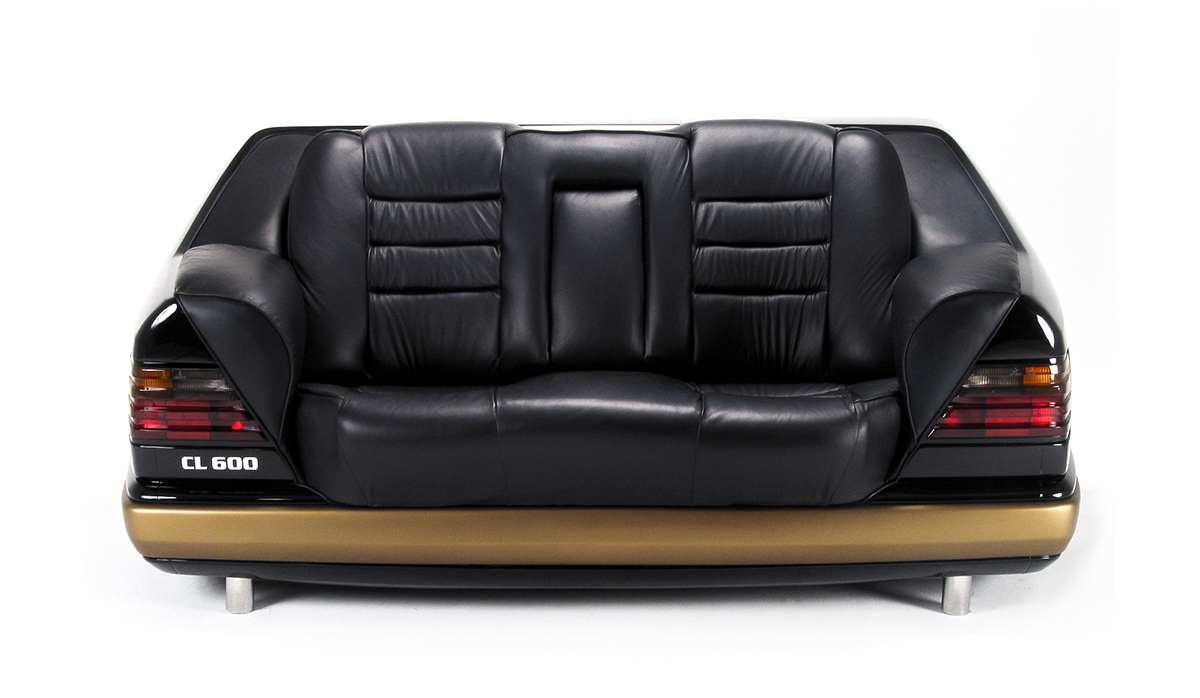 Car Sofa Mercedes On Behance
