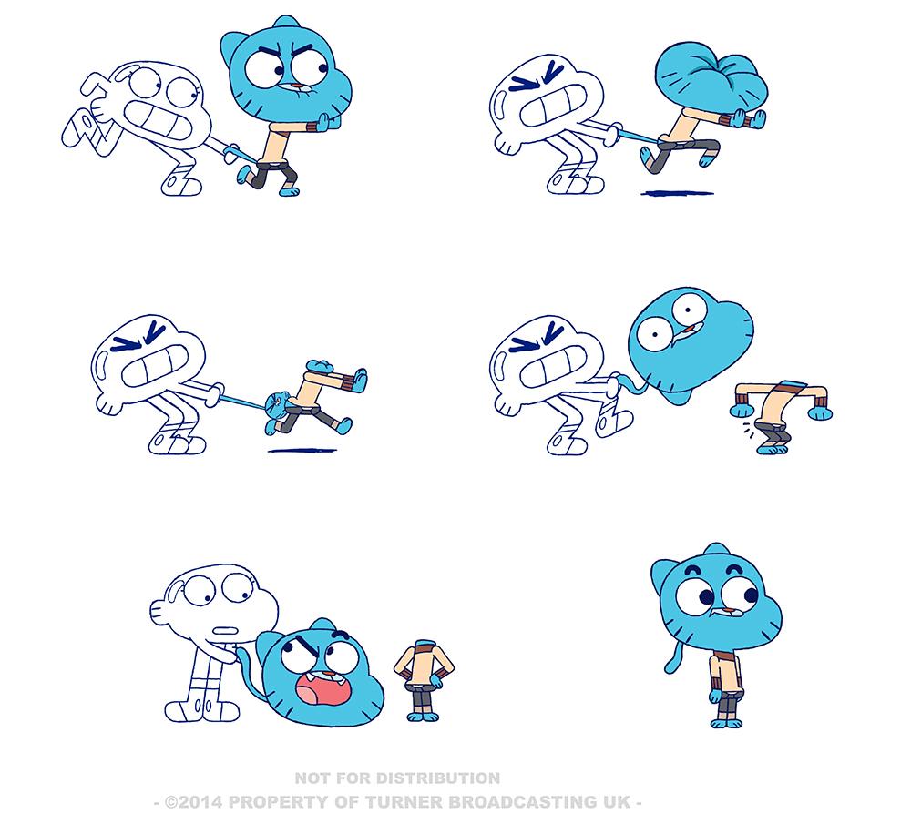 Cartoon Network Character Designer Salary : The amazing world of gumball character design season on