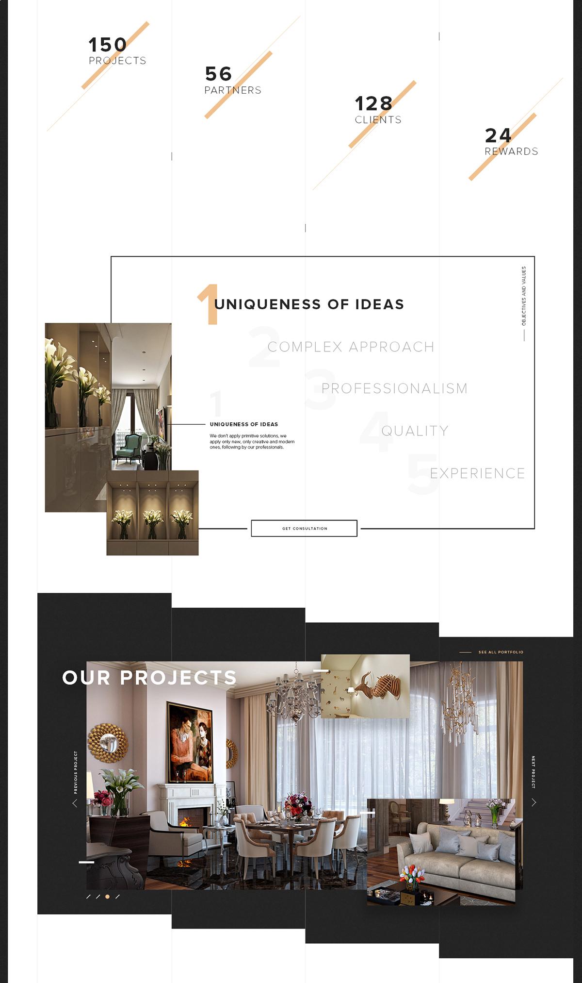 Desartdecor interior design website on student show for Interior design pricing strategy