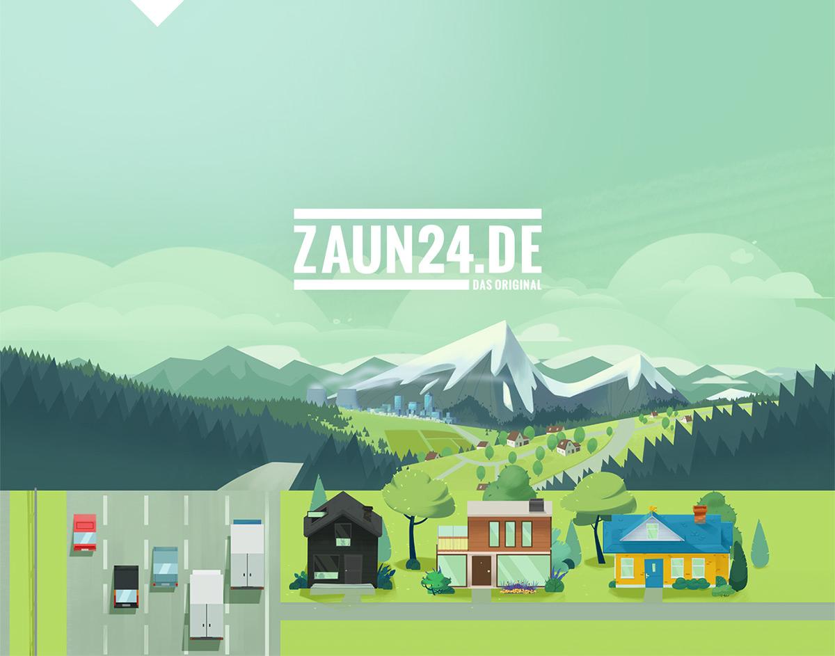 ZAUN 24 Studio Pigeon animation on Student Show