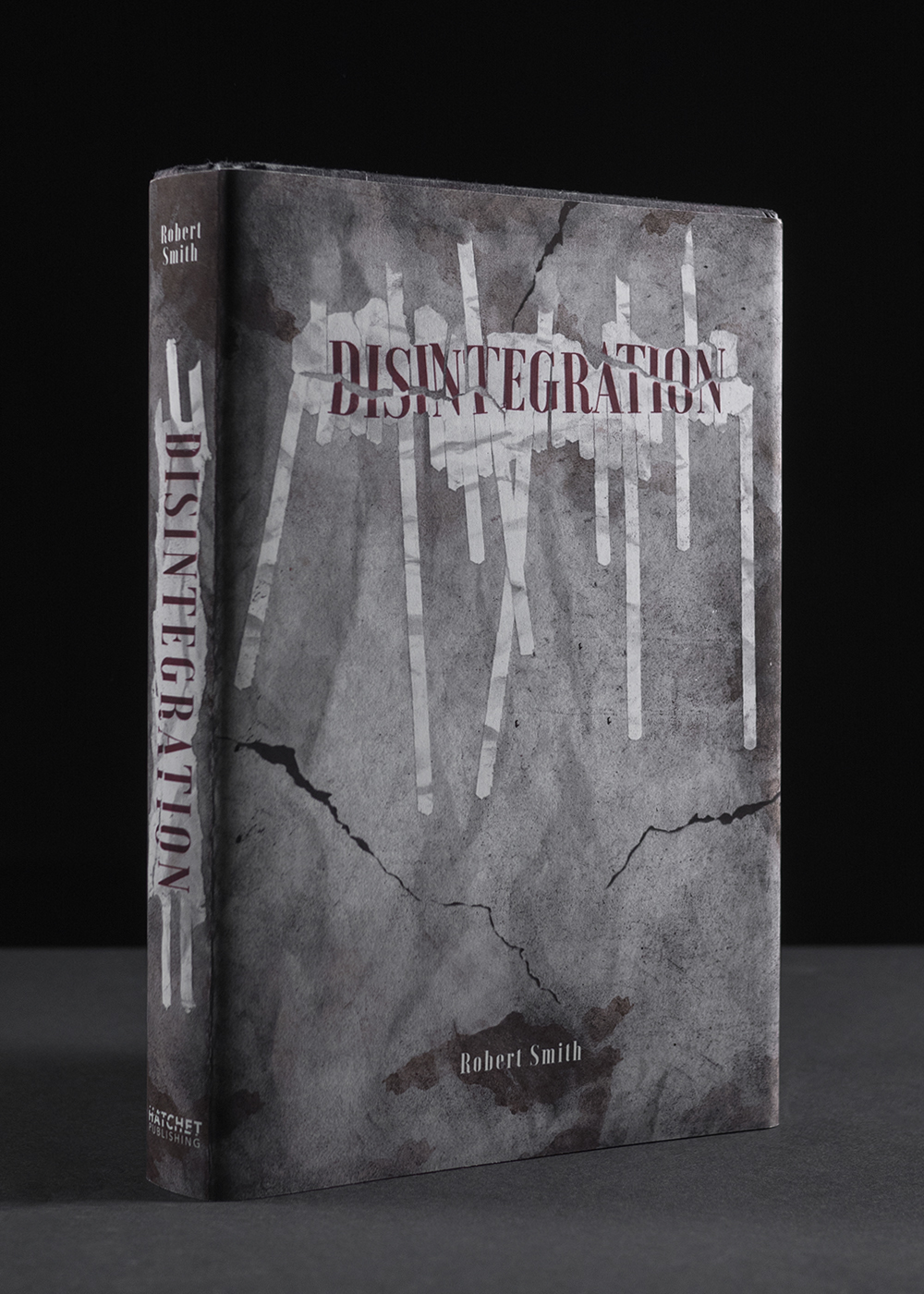 How To Create A Book Cover Design ~ Disintegration book cover design on behance