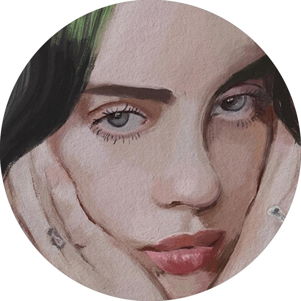 artist Billie Billie Eilish eilish iraswatimanish portrait Singer