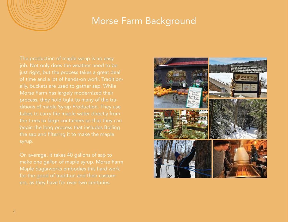 Morse Farm Maple Sugarworks Rebranding Book On Behance