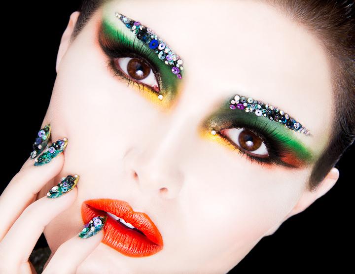 Food Inspired Make-up & Hair Designs On Behance