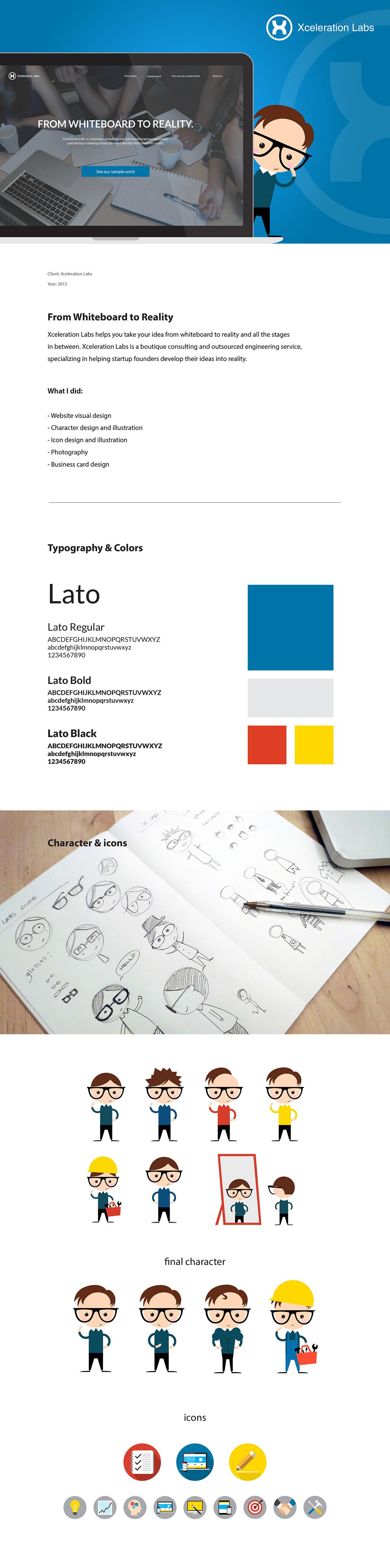 Website Design graphic design  Character design  ILLUSTRATION  Web Layout