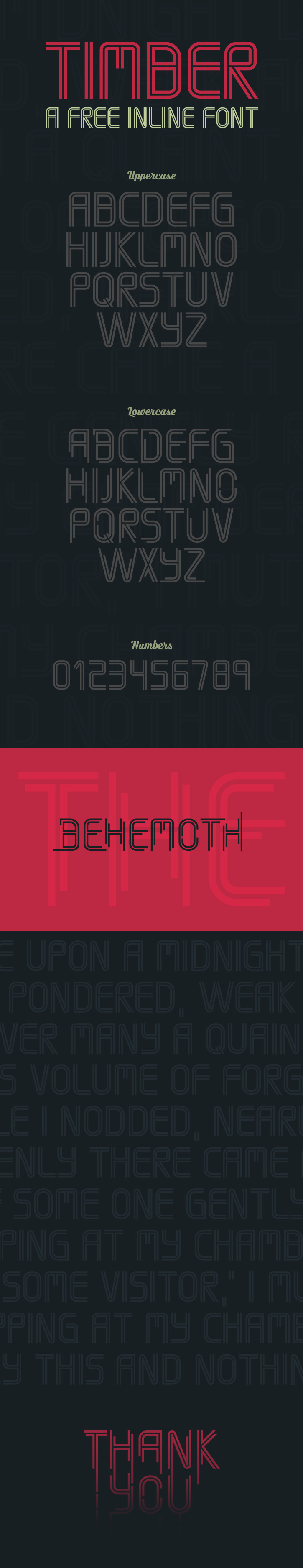 Timber Font Download