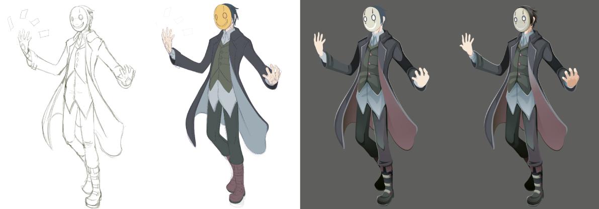 vector vector art Character sorcerer wizard