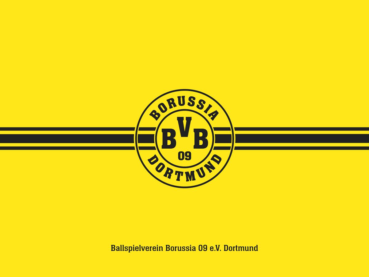 Bvb Borussia Dortmund On Behance
