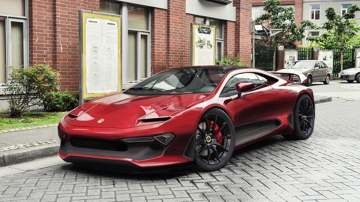 Revival Project - Lotus Esprit on Behance