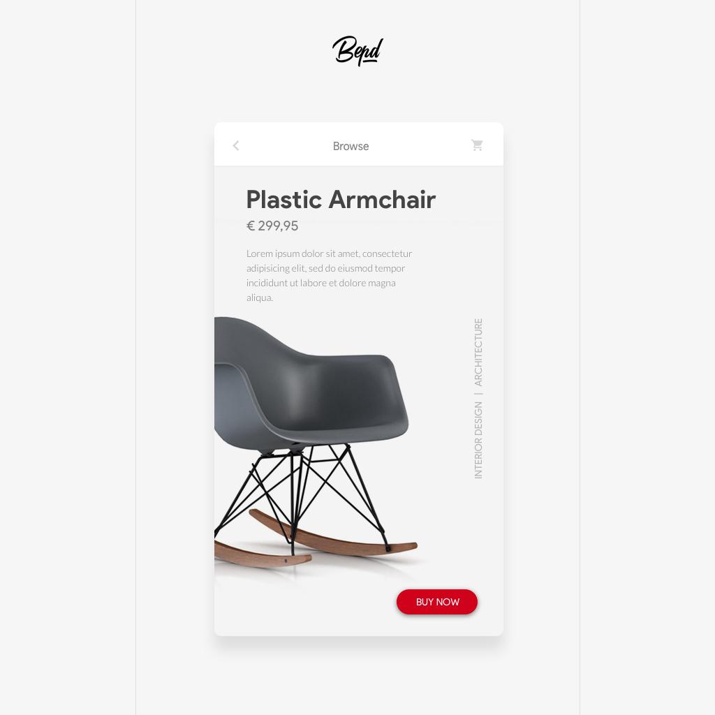 UI ux inspiration app mobile application concept Interface ios design