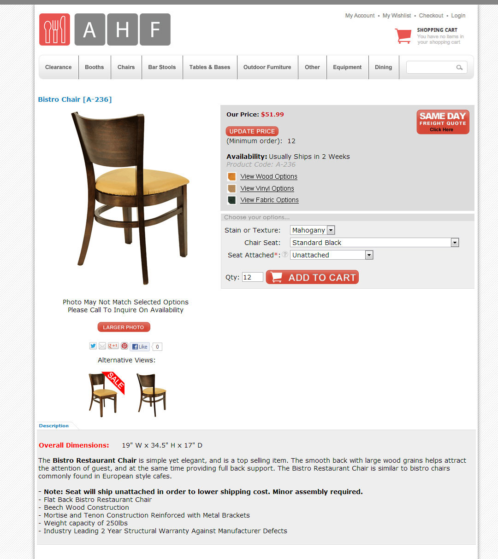 American Hospitality Furniture On Behance - American hospitality furniture