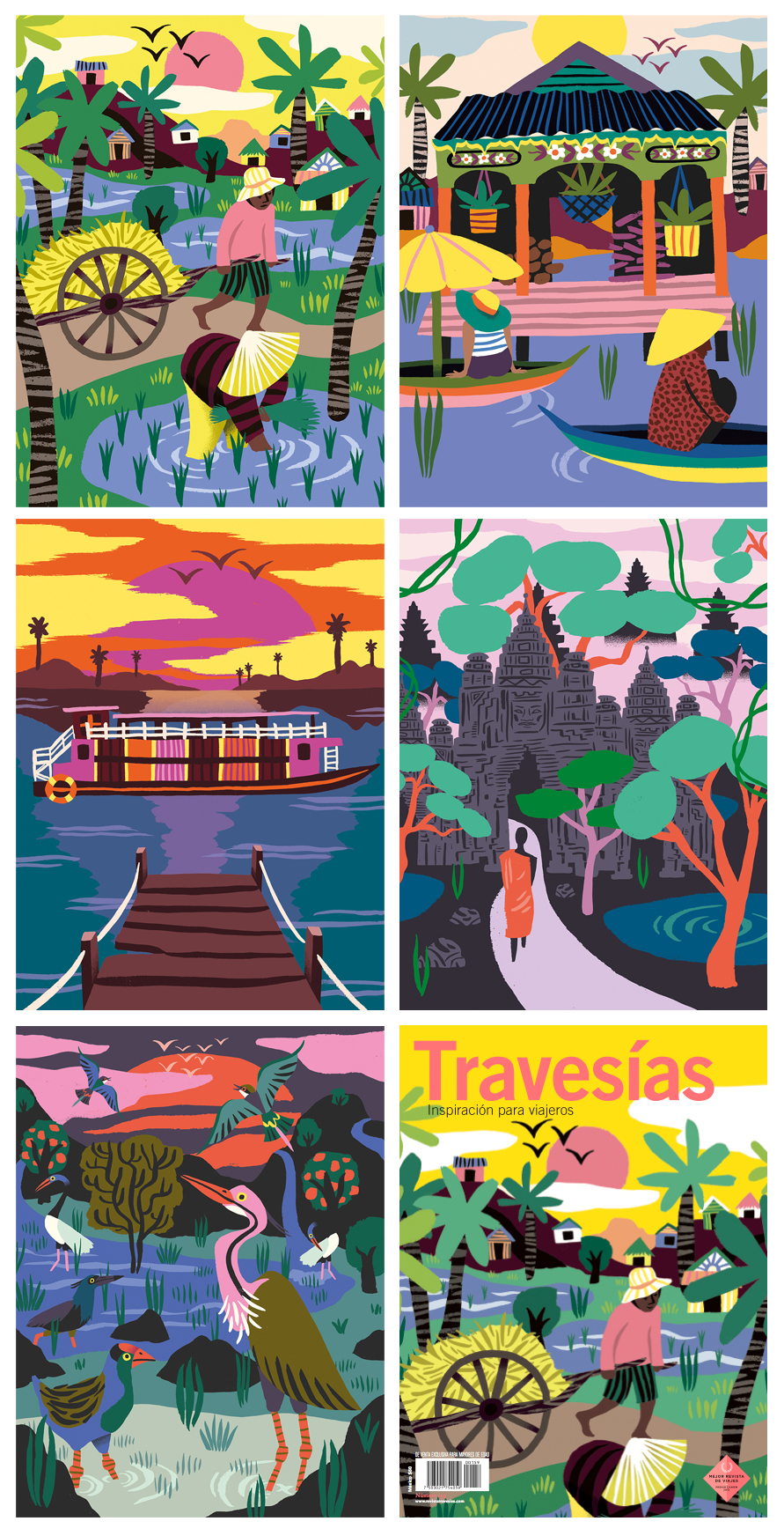 Cambodia travesías Travesias Magazine magazine Travel traveling Travel Magazine culture angkor boat trip journey Holiday discover asia