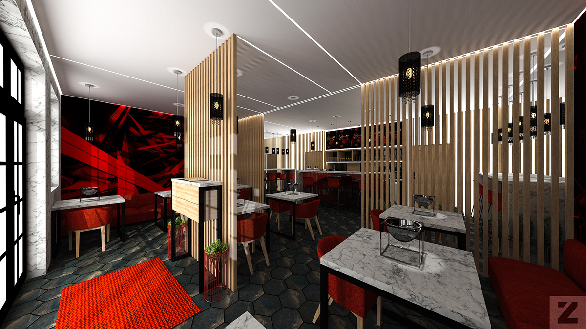 Chinese Restaurant A Concept One For A Young Investor On Behance