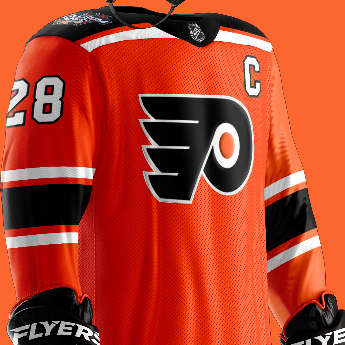 best loved e4e3f a924f where to buy flyers stadium series jersey
