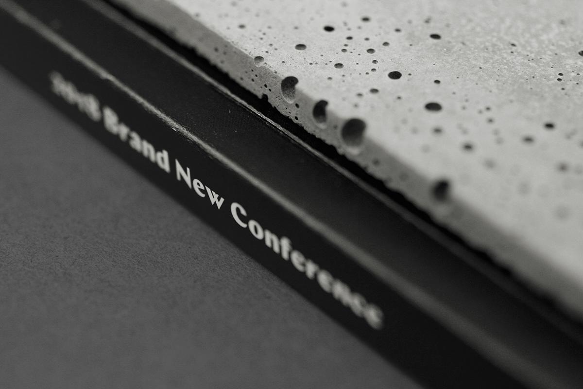 concrete,Event,conference,Badges,Tote Bag,Program,print,DIY