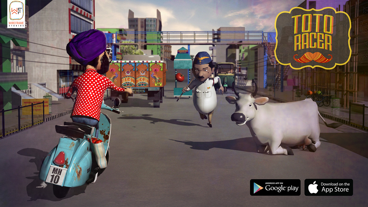 Toto Racer - 3D Mobile Game on Behance