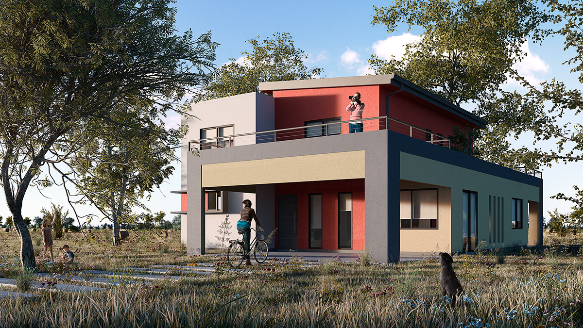 Viviendas best promocin de viviendas en pozuelo de alarcn for Modelo de casa vivienda