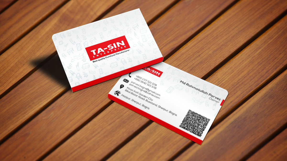 Furniture manufacturers business card on behance colourmoves