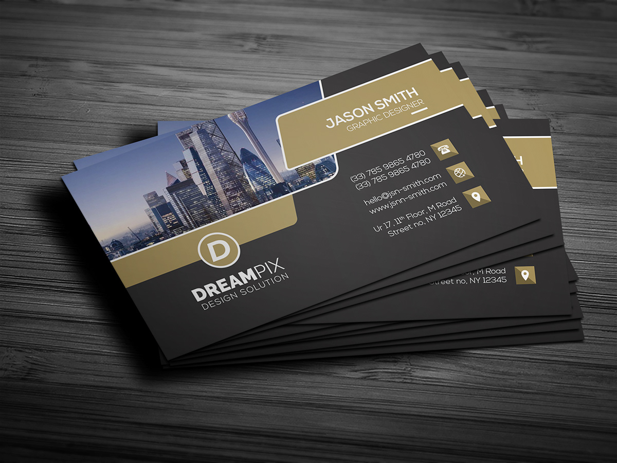 Free Real Estate Business Card With 8 Free Mockup On Student Show