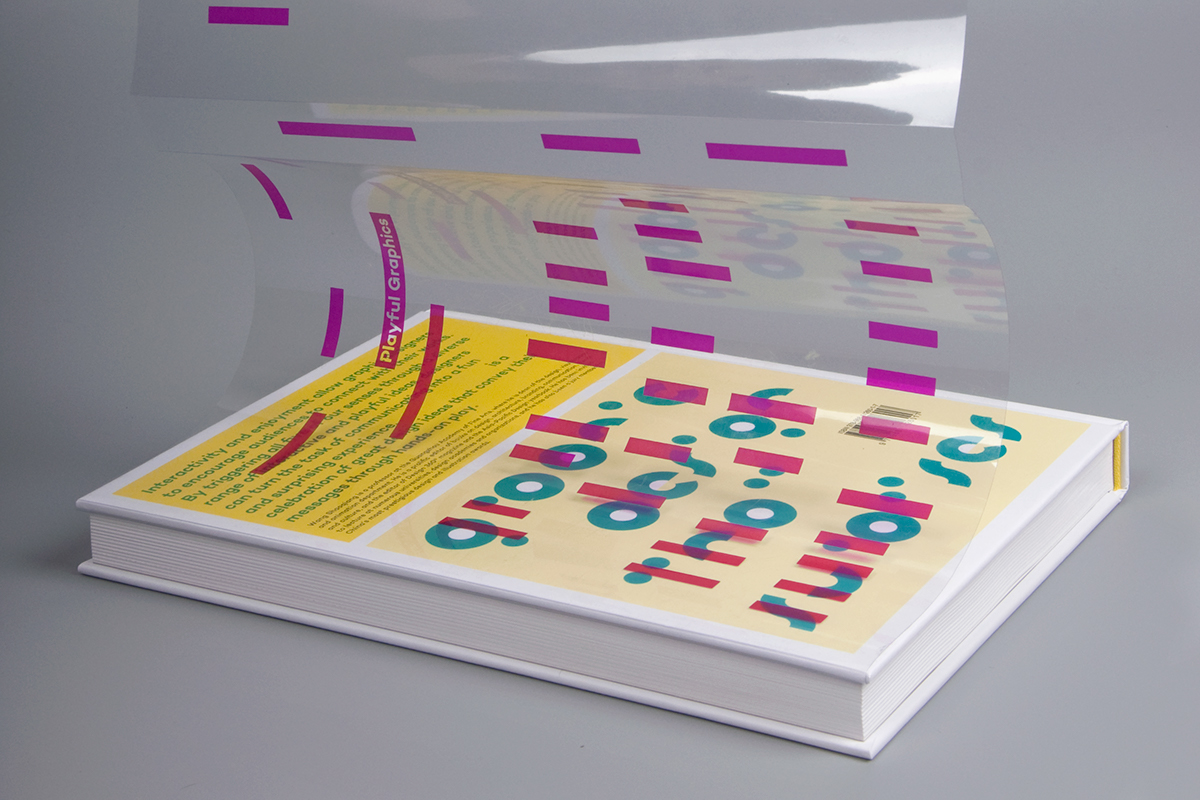 Playful die-cut overlap thermo-sensitive remove puzzle
