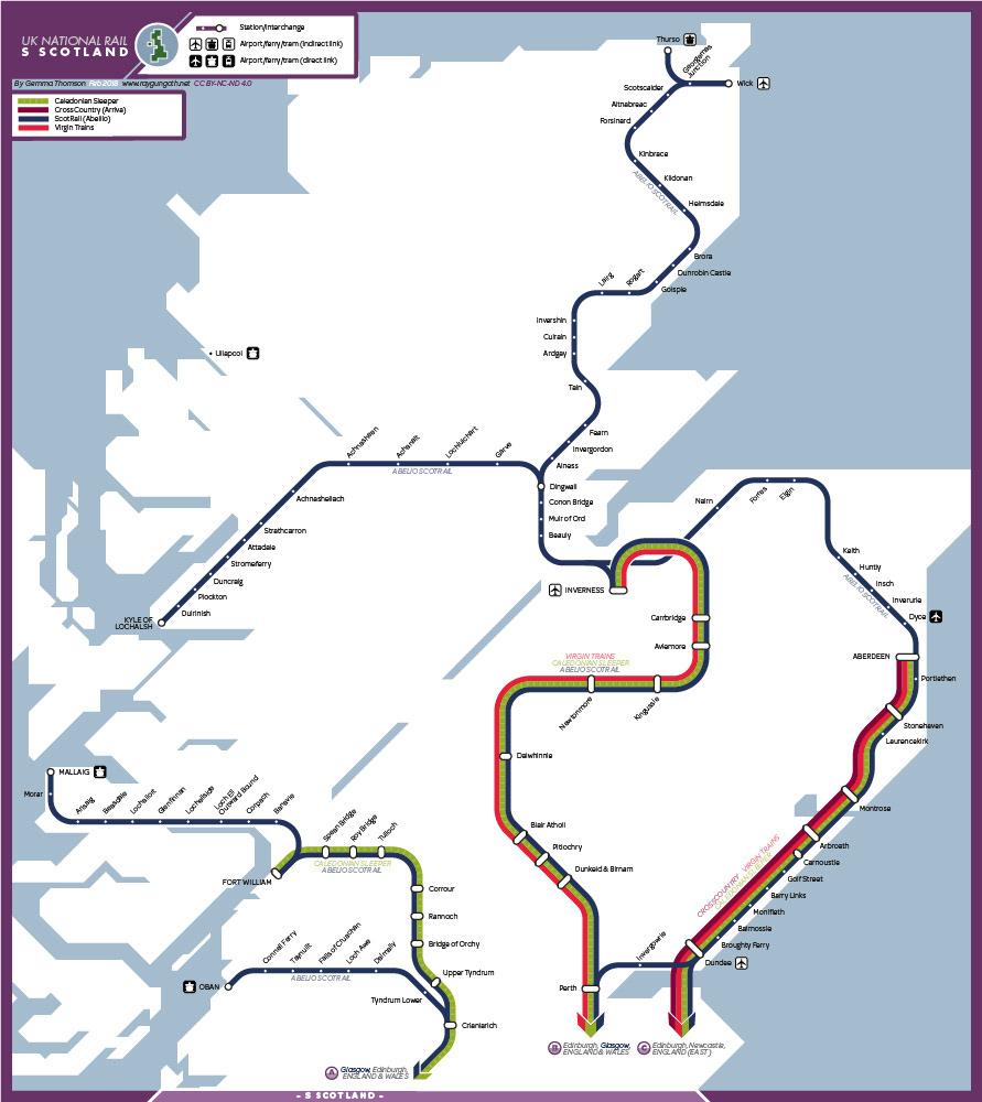 National Rail Uk Map.Uk National Rail Maps On Behance