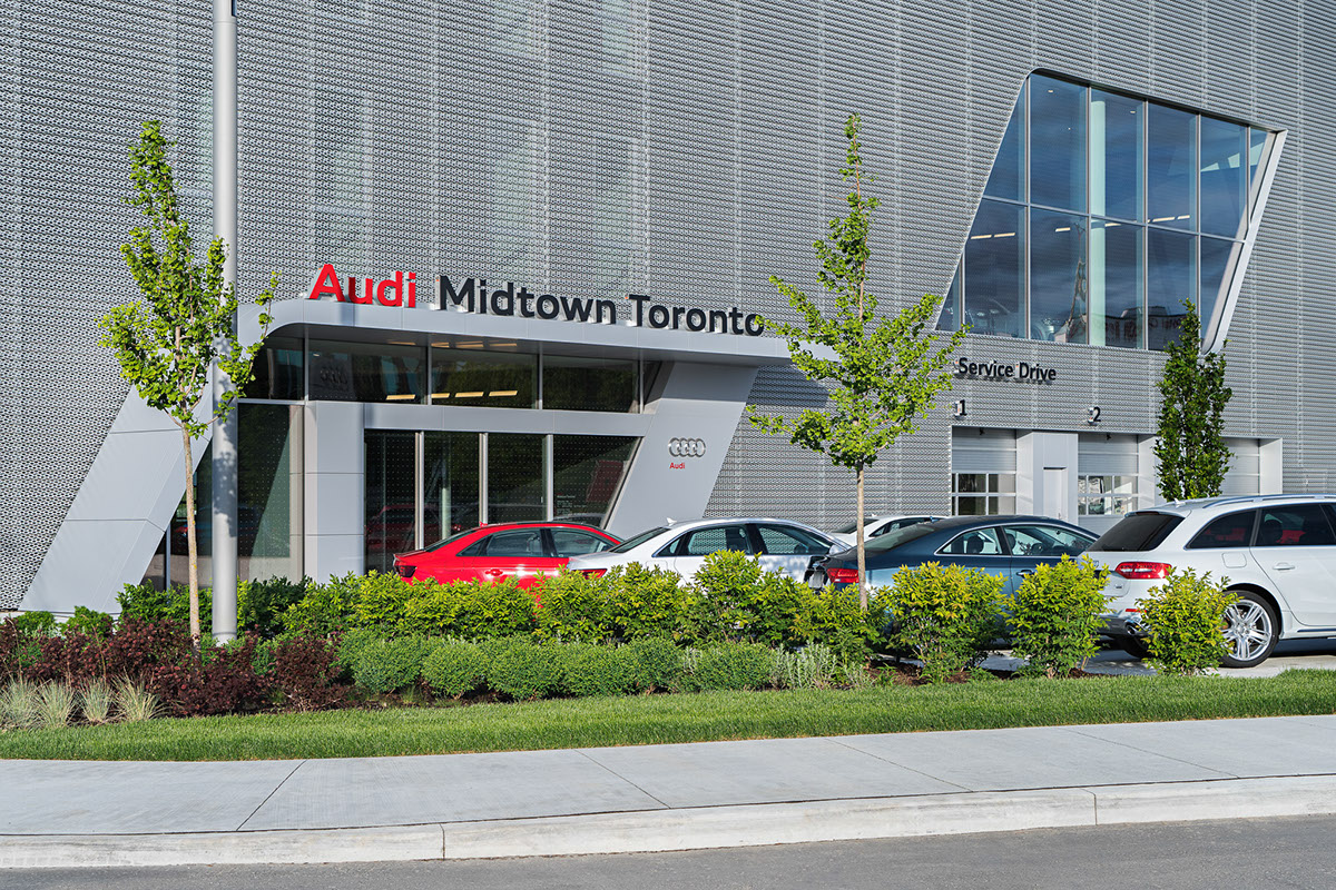 Audi Midtown Toronto On Behance - Audi toronto