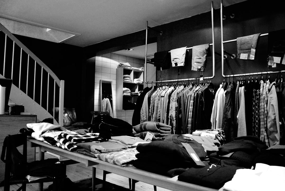 Maison neuf clothing shop identity on behance for Maison neuf