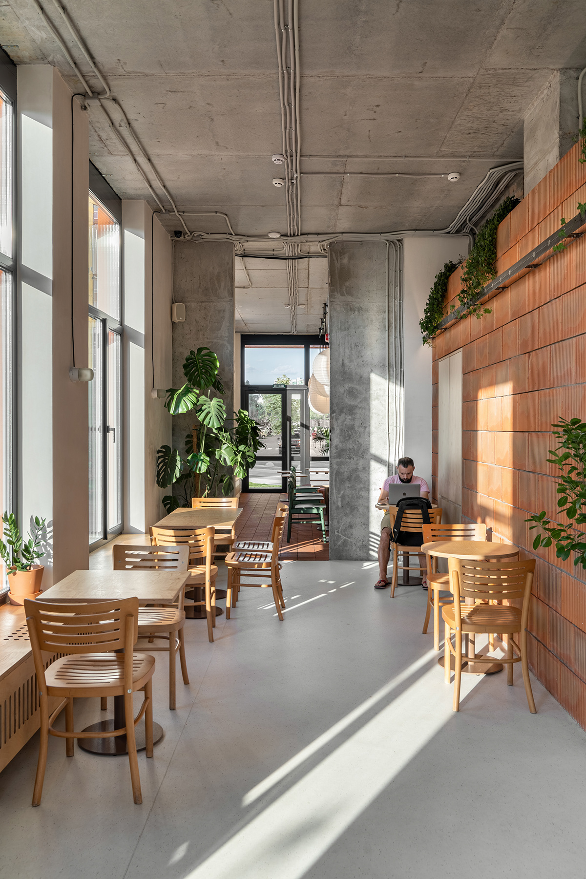architecture cafe commercial design Interior Kyiv modern shop ukraine